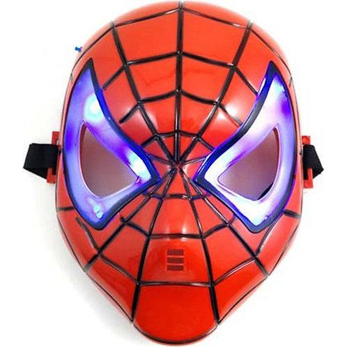Işıklı Örümcek Adam Maskesi