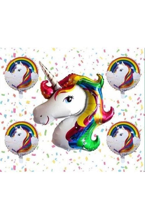 Unicorn Folyo Balon Set