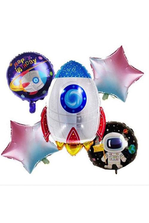 Uzay Temalı Folyo Balon Set