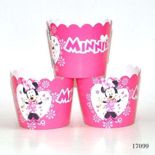 Minnie Mouse Kek Kapsülü 25'Li