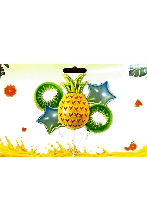Ananas Folyo Balon Set