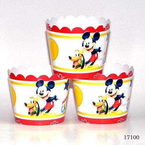 Mickey Mouse Kek Kapsülü 25'Li