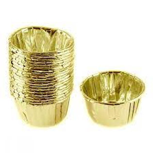 25 Li Metalik Gold Kek Kapsülü