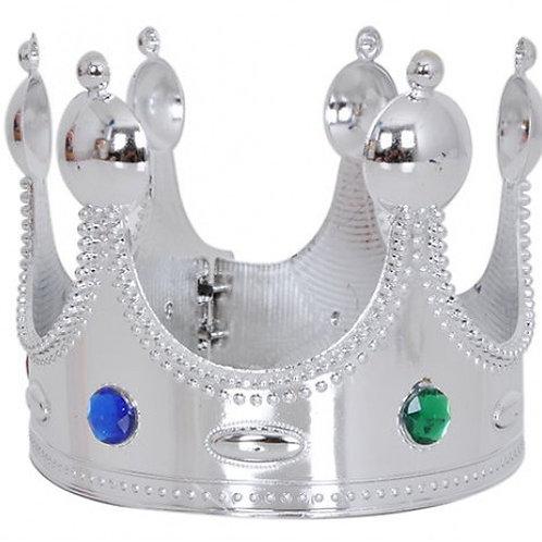 Gümüş Kral Taçı