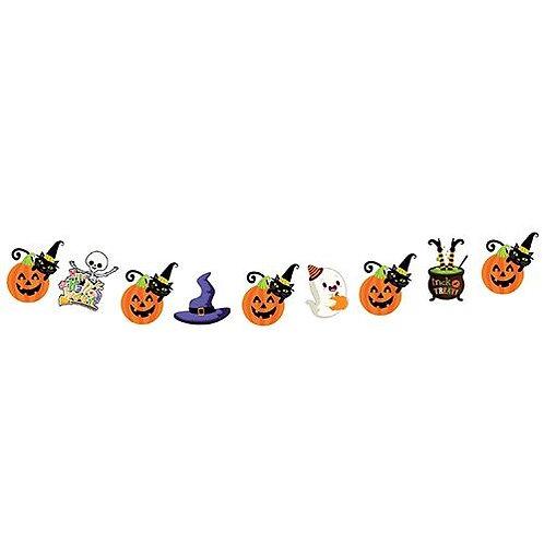 Dekoratif Figürler Simli Banner Halloween