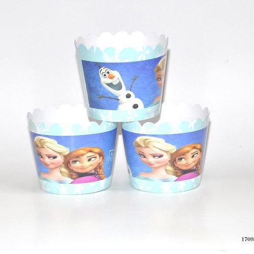 Frozen Kek Kapsülü 25'Li