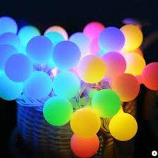 3 Metre Karışık Renk Top Led