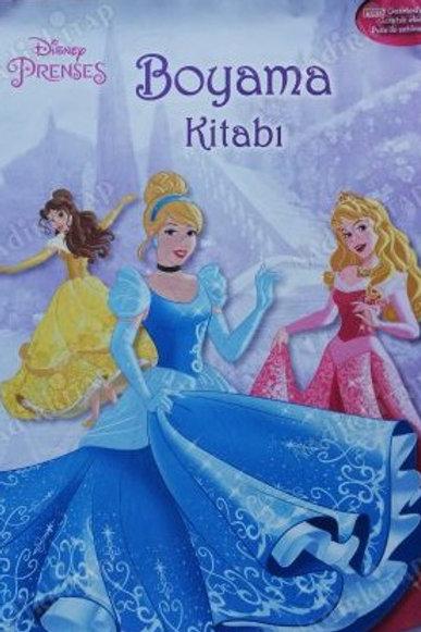Dısnep Prensesler Boyama Kitabı Stickerlı