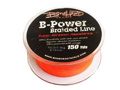 Bonehead 12 lb. B-Power Braided Line