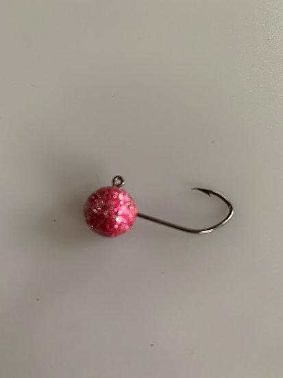 MAD 3/16 oz. Crappie Jigs - Disco Pink 5 pk.