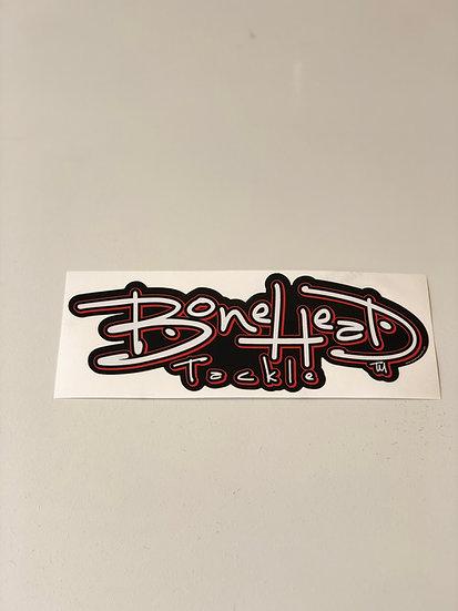 "Bonehead 12"" Sticker"