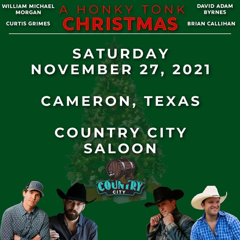 Holiday Tour w/ Curtis Grimes, William Michael Morgan & David Adam Byrnes