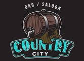 Country City Bar and Saloon  blk backgro