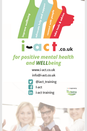 i-act pop-up banner