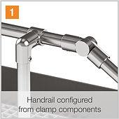 KITEStep Handrail Components