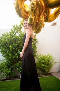 Golden baloon