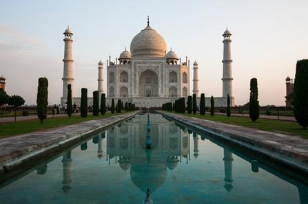 Morning Taj Mahal