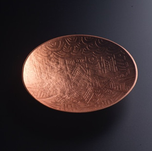 20:l' Atelier de Salem . coupelle en cuivre