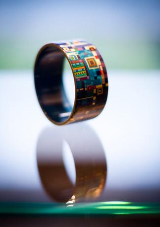 bracelet laqué