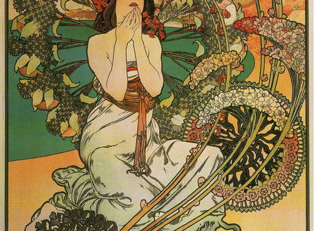 M – is for Mucha