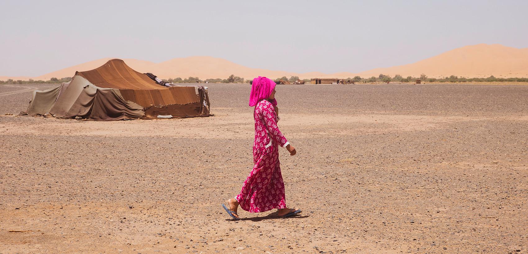 Born in the Sahara