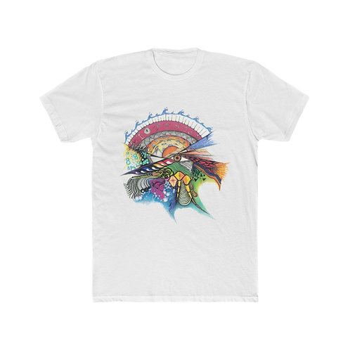 "Savage Art's ""Time"" Men's Cotton Crew Tee"
