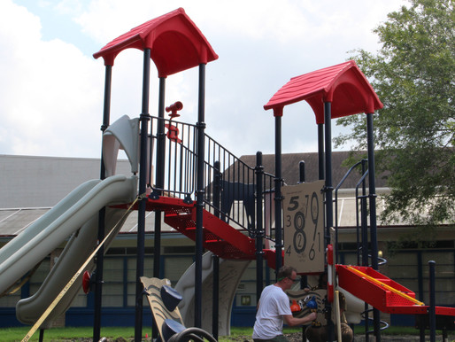 Lower School builds a new and safer playground