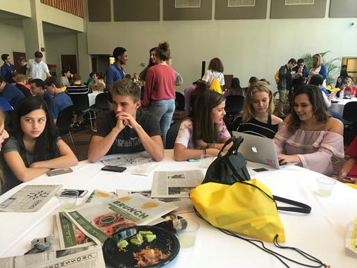Journalism students attend JEA conference at Loyola University