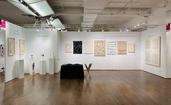 Marisol Art NYC Stand B36 setup.jpeg