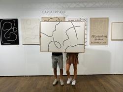 Marisol art NYC Stand B36 - Day 2 - 3