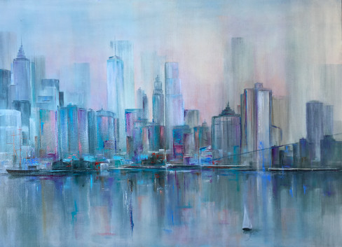 NY at Dawn - SOLD
