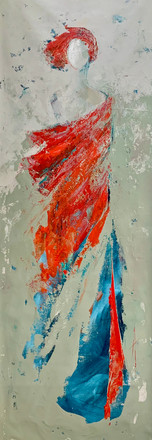 Woman -  Red - SOLD