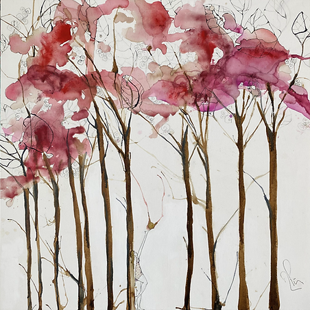 MArisol Art NYC_Pini_I Ask Them_2021_Natural Pigments and Tints on Canvas_39 x 39 in.heic