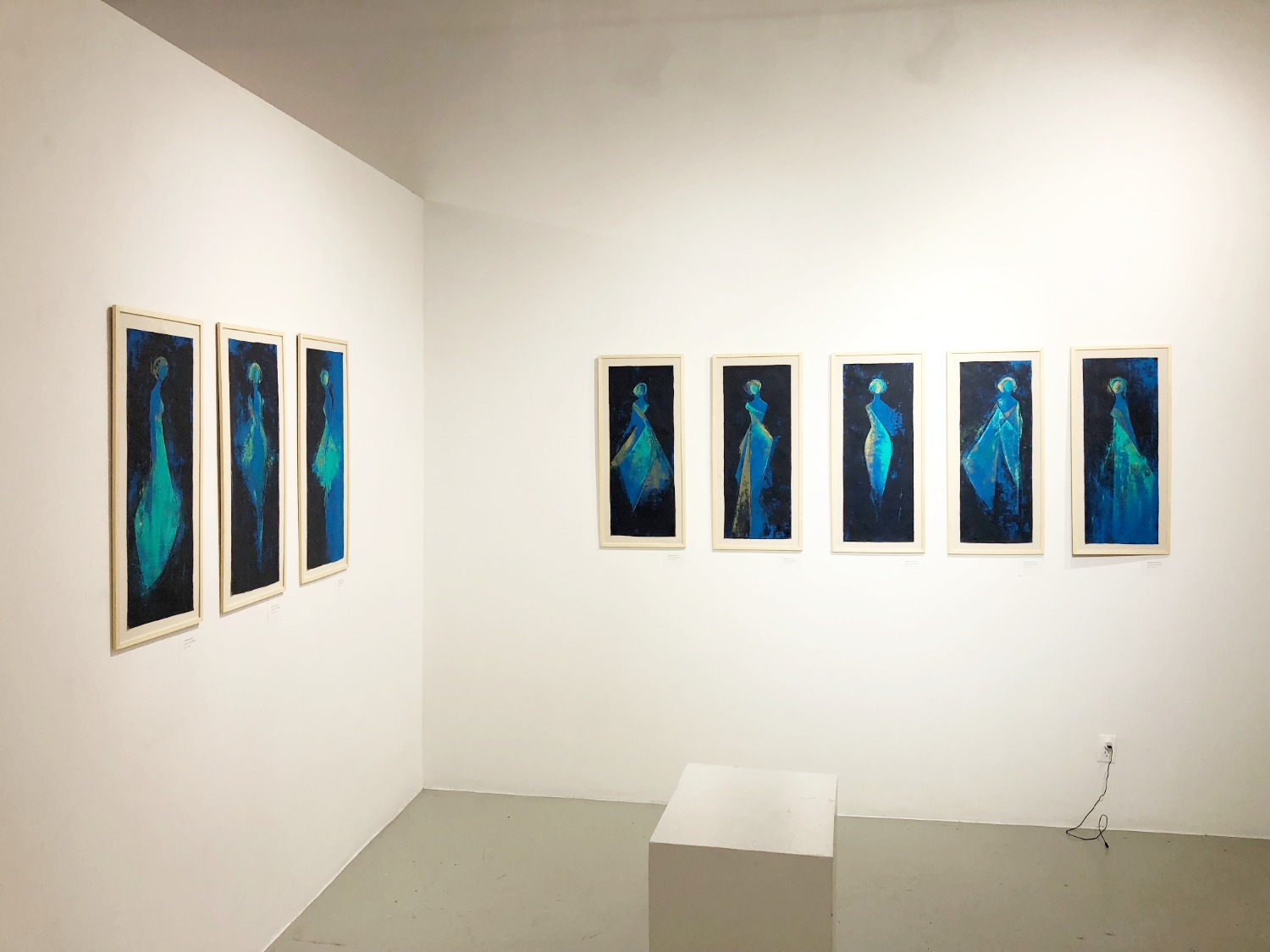 Caelum Gallery - Women in Blue