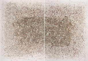 2021 #17, 5 Hues Series Diptych