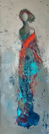 Woman Red III