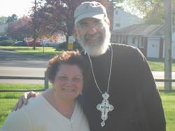 Rosie & Fr. Peter
