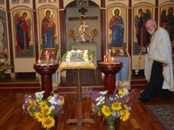 Vigil for Transfiguration 2013