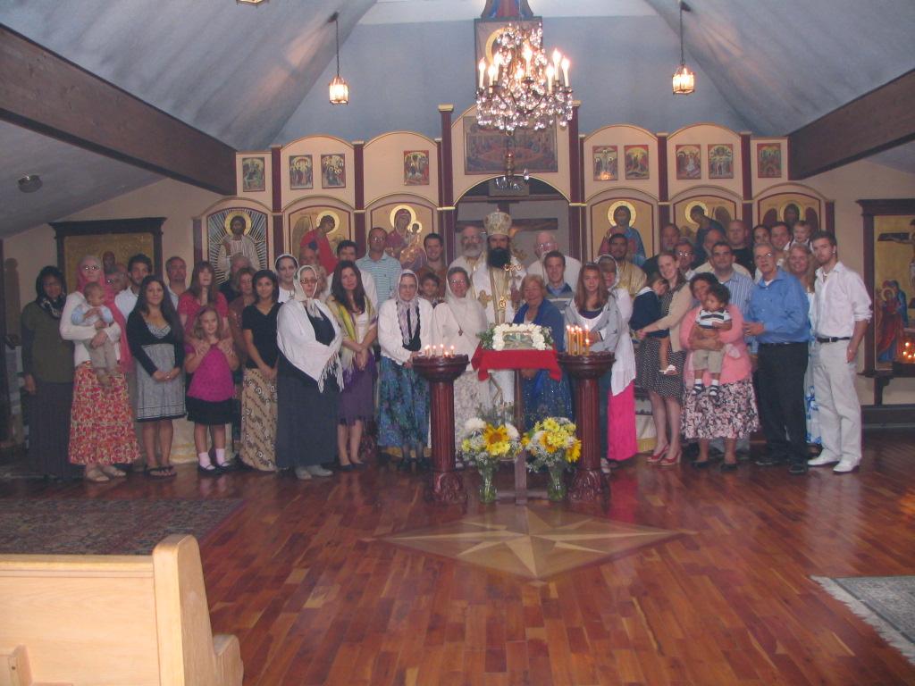 Bishop Daniil's visit HT 2012