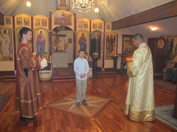 Acolyte to be tonsured