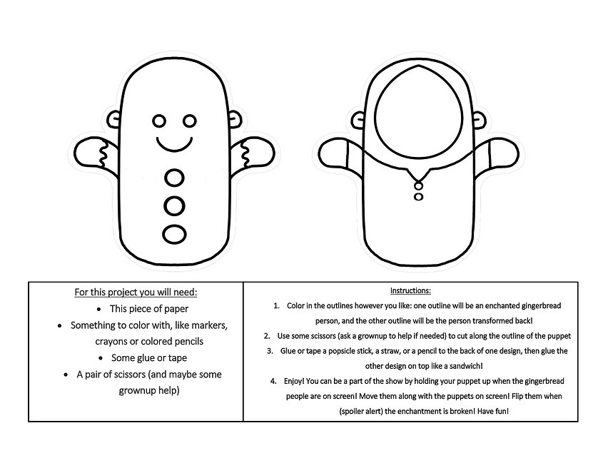 How to make your very own paper puppet.j
