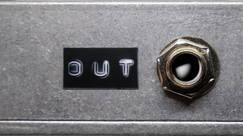 Audio output socket on electronic device