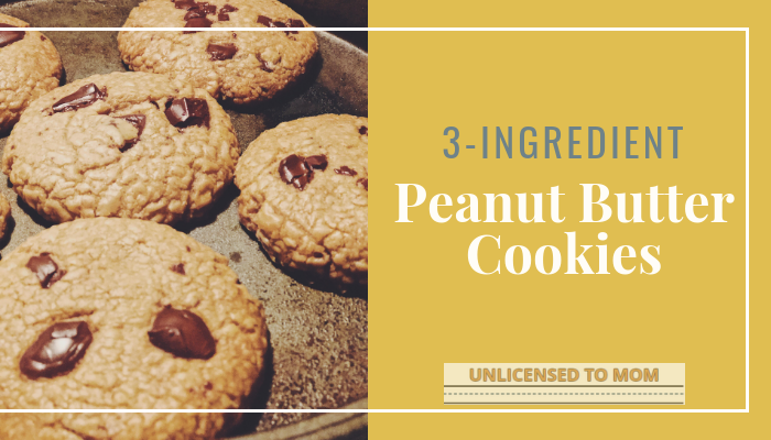 The Best 3-Ingredient Peanut Butter Cookie