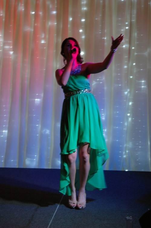 Hollie Marie - Green Dress