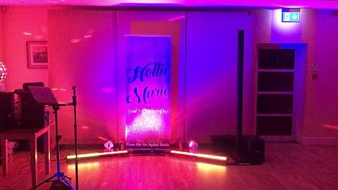 Hollie Marie show set up