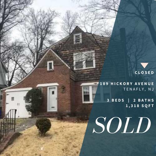 Sold Property - 189 Hickory avenue Tenaf