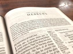 Meditating on Hebrews Day 4: Heb 3:1-6