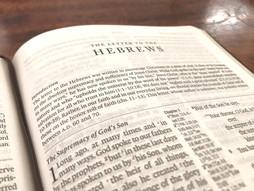 Meditating on Hebrews day 9: Heb 5:11-6:3