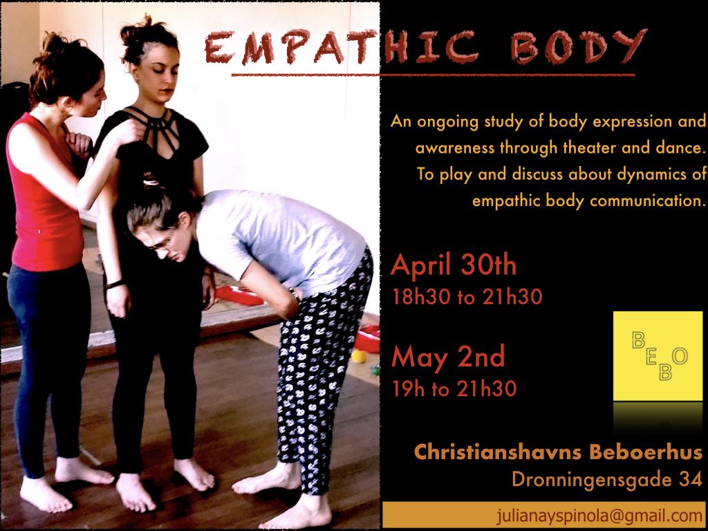 Workshop Emphatic body Beboerhus