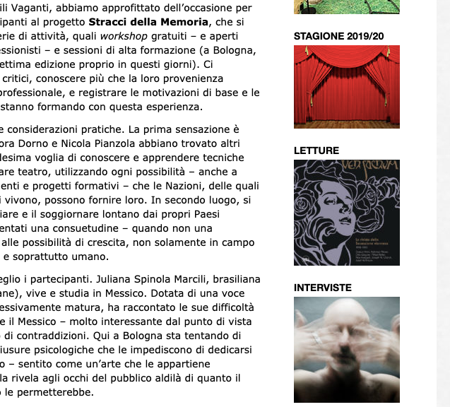 Performazioni Review